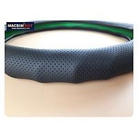 Bọc vô lăng cao cấp HGL20 chất liệu da thật - Khâu tay 100% size M -  nhãn hiệu Macsim mã HGL20