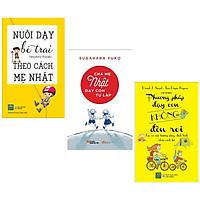 Combo 3 cuốn sách nuôi dậy con tốt nhất : Nuôi Dạy Bé Trai Theo Cách Mẹ Nhật + Cha Mẹ Nhật Dạy Con Tự Lập + Phương Pháp Dạy Con Không Đòn Roi ( Tặng kèm Postcard Happy Life)