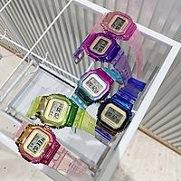 Đồng hồ điện tử thời trang nam nữ khung màu titan mẫu mới cực chất GI478