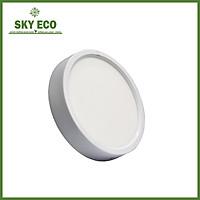 Đèn ốp nổi 12W hình tròn - vỏ trắng - ánh sáng trắng
