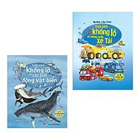 Combo Sách Tương Tác - Big Book: Cuốn Sách Khổng Lồ Về Các Loài Động Vật Biển + Cuốn Sách Khổng Lồ Về Những Chiếc Xe Tải (Dành Cho Trẻ Từ 5-15 Tuổi)