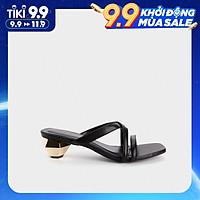 Giày Cao Gót Nữ Quai Chéo Gót Vàng 5Phân HAPAS - CG5555