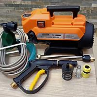 máy phun xịt rửa xe gia đình T1 màu cam cao cấp - động cơ dây đồng