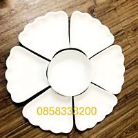 Bộ bát đĩa hoa mặt trời ĐK 57cm.