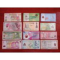 Bộ 12 tờ tiền polyme của 12 nước xưa [SƯU TẦM TIỀN XƯA] tặng kèm bao lì xì - The Merrick Mint