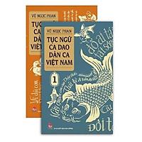 Sách - Tục ngữ-ca dao-dân ca Việt Nam (bộ 2 tập)