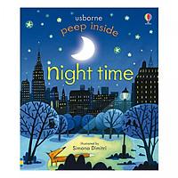 Usborne Peep Inside Night Time