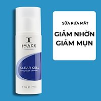 Sữa Rửa Mặt Làm Sạch Và Se Khít Lỗ Chân Lông - Image Clear Cell Salicylic Gel Cleanser (177ml) | Dành Cho Da Nhờn