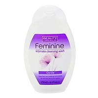 Nước Rửa Vệ Sinh Phụ Nữ Beauty Formulas Feminine Intimate Cleansing - Gentle 250ml