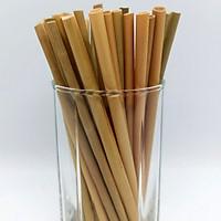 100 Ống hút cỏ (Grass Straws) Eco Friendly - Hàng cao cấp xuất khẩu - Sử dụng được cho tất cả các loại thức uống - Không tan hay biến dạng trong nước