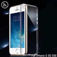 Ốp Lưng Chống Sốc cho điện thoại Iphone 5 / 5S - Dẻo Trong