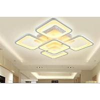 Đèn mâm áp trần led 3 chế độ ánh sáng phong cách hiện đại