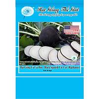 20h Hạt Giống Củ Cải Đen - Black Spanish Cay Cay (Raphanus sativus)