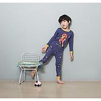 Bộ dài cho bé Olomimi Hàn Quốc Robot Hero  FW20 - 100% cotton