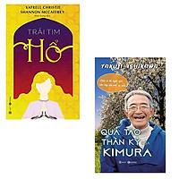 Bộ 2 cuốn sách khích lệ ý chí con người dể làm nên điều kỳ diệu: Trái Tim Hổ - Quả Táo Thần Kỳ Của Kimura