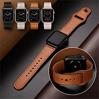 Genuine Leather iWatch Strap for Apple Watch Band Series 4 3 2 1 38/42mm