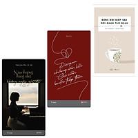 Combo 3 Cuốn Tiểu Thuyết Buồn , Luyến Tiếc : Năm Thương Tháng Nhớ Không Ngày Gửi Đi + Đã Qua Chẳng Vãn Hồi Chỉ Cần Bước Tiếp Thôi +  Đừng Đợi Kiếp Sau Mới Quan Tâm Nhau (Tại Sao Cứ Yêu Là Phải Đau)