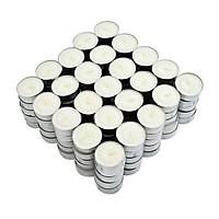 Hộp 100 Nến Tealight Không Khói Mỗi Nến Đốt 4 Giờ