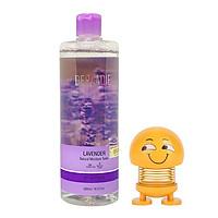 Nước hoa hồng kháng viêm, kiềm dầu và hỗ trợ làm giảm mụn Derladie Lavender Natural Moisture Toner 500ml + tặng 1 con lắc lò xo EMOJI ( hình ngẫu nhiên)