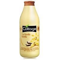 Sữa tắm COTTAGE La Vanille (hương Vani) 750ml