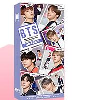 Poscard hộp bưu thiếp BTS Map of the Soul 7' version trường học tặng vòng tay may mắn