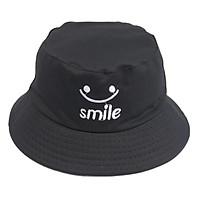 Nón bucket mặt cười Smile nam nữ thời trang, vành rộng chống nắng tốt, chất liệu vải mềm mại thoải mái