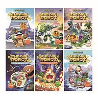 COMBO Trái Cây Đại Chiến Zombie - Thế Giới Robot (Trọn bộ 6 tập)