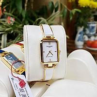Đồng hồ nữ SUNRISE 9990SA, VT Vành Đá sang trọng,full hộp thẻ chính hãng, Kính Sapph