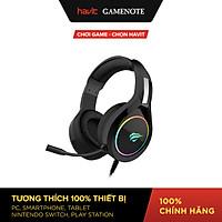 Tai Nghe Gaming Havit H2232D, Hỗ Trợ LED RGB, Tương Thích Với PC/ PS4/ XBOX/ Điện Thoại/ Máy Tính Bảng - Hàng Chính Hãng
