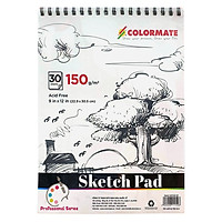 Tập Giấy Vẽ A4 Sketch Pad Colormate ARTIST-SP (30 Tờ)