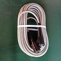 Dây xịt nước rửa xe 15 mét răng trong 22mm, dây cao cấp awa sử dụng thông dụng cho máy mini động cơ từ