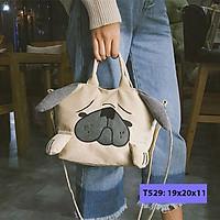 Túi đeo chéo nữ hình con chó dễ thương