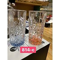 Bộ 6 ly thủy tinh uống nước chịu nhiệt cao cấp 355ml - VD50