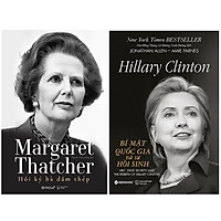 Combo Sách Về Hai Nữ Chính Trị Gia Quyền Lực : Margaret Thatcher - Hồi Ký Bà Đầm Thép + Hillary Clinton - Bí Mật Quốc Gia Và Sự Hồi Sinh
