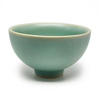 06 Chén trà- Bát Cúp S3 Đông Gia  - xanh ngọc Celadon 32.