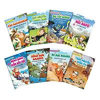 Combo: Truyện Tranh Tìm Hiểu Khoa Học : Dành Cho Trẻ Từ 6 Tuổi (8 cuốn)