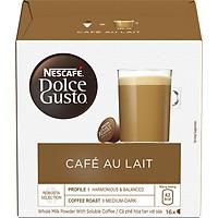 Hộp 16 Viên Nén Cà Phê Sữa Nescafe Dolce Gusto - Café AuLait 160g