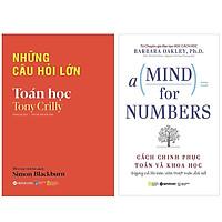 Combo Sách Hay Về Toán Học : Những Câu Hỏi Lớn - Toán Học + A Mind For Numbers - Cách Chinh Phục Toán Và Khoa Học