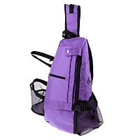 Yoga Mat Backpack Multi Purpose Crossbody Sling for Gym Beach Hiking