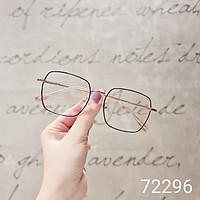 Gọng kính nam nữ LILYEYEWEAR mắt vuông thanh mảnh nhẹ nhàng màu sắc thời trang 72296
