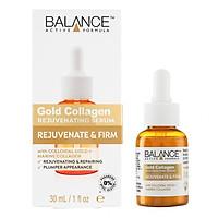 Tinh Chất Tái Tạo Da, Chống Lão Hóa Balance Gold Collagen Serum 30ml