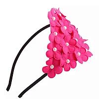 Cài tóc phối hoa kết mảng sang trọng, xinh xắn phong cách Hàn Quốc cho bé– P059