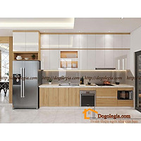 Tủ Bếp Gỗ Hiện Đại Công Năng Tuyệt Vời LG-TB070