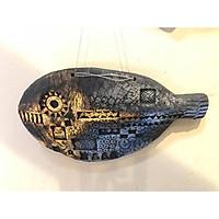 Cá gốm trang trí