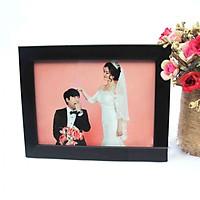 Combo 4 khung ảnh để bàn trang trí tiệc cưới sang trọng