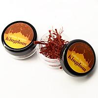 Saffron KingDom - Nhụy Hoa Nghệ Tây Iran Loại Super Negin Thượng Hạng (sample mẫu thử hộp 0.2 gram)