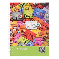 Sổ Lò Xo Vibook Impressive SLX15-2 100 Trang (13 x 18 cm) - Mẫu Ngẫu Nhiên