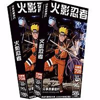 Hộp ảnh Postcard Naruto 708 hình sasuke thiết kế độc đáo