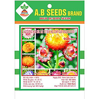 2 Gói Hạt Giống Hoa Cúc Bất Tử Lùn(100 hạt/gói)CHC
