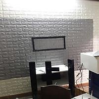 COMBO 5 TẤM XỐP DÁN TƯỜNG CHỐNG THẤM 3D GIẢ GẠCH 70x77 4mm